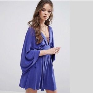 NWT FREE PEOPLE MODERN KIMONO MINI DRESS